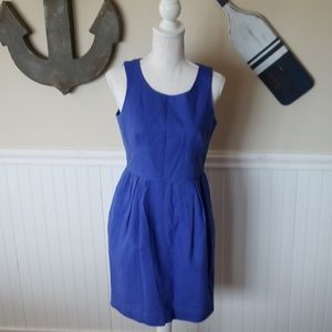 Royal Blue J.Crew Tank Dress